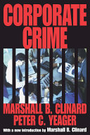 Corporate Crime Pdf/ePub eBook