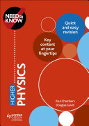 Need to Know: Higher Physics