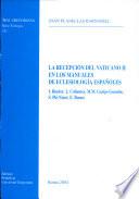 La recepción del Vaticano II en los manuales de eclesiología españoles