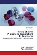 Hiraka Bhasma  A Diamond Preparation  In Carcinoma