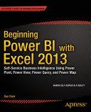 Beginning Power BI with Excel 2013