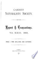 Reports And Transactions Cardiff Naturalists Society
