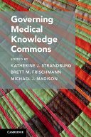 Governing Medical Knowledge Commons - Seite 195