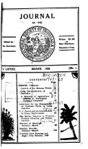 Journal of the Agricultural Society of Trinidad   Tobago