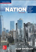 Brinkley  The Unfinished Nation  A Concise History of the American People    2016 8e  Student Edition Book