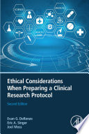 Ethical Considerations When Preparing a Clinical Research Protocol