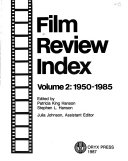 Film Review Index Book