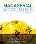Managerial Accounting 5E Binder Ready Version + WileyPlus Registration Card