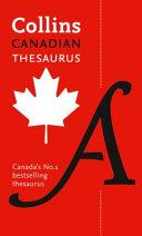 Collins Canadian Thesaurus