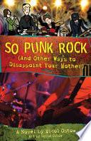 So Punk Rock Book