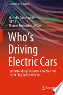 Who's Driving Electric Cars