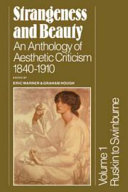 Strangeness and Beauty  Volume 2  Pater to Symons