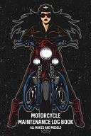 Motorcycle Maintenance Log Book