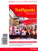 Treffpunkt Deutsch: Grundstufe, Books a la Carte Plus Mygermanlab with Etext with Etextlab (Multi Semester Access) -- Access Card Package