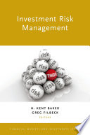 Investment Risk Management Book PDF