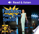 Fashion Makes Them Special Book