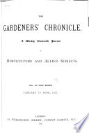 Gardeners Chronicle & New Horticulturist