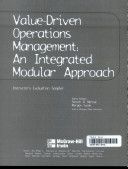 Value Driven Operation Mgmt