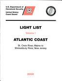 U  S  Coast Guard Light Lists