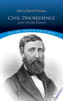 Civil Disobedience  and Other Essays Book