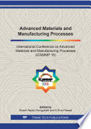 Advanced Materials And Manufacturing Processes