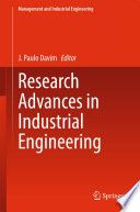 Research Advances In Industrial Engineering Book PDF