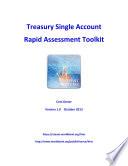 Treasury Single Account Rapid Assessment Toolkit Book