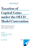 Taxation Of Capital Gains Under The Oecd Model Convention