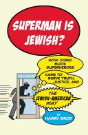 Superman Is Jewish? [Pdf/ePub] eBook