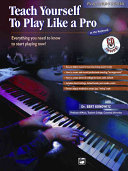 Teach Yourself to Play Like a Pro at the Keyboard