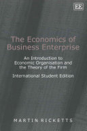 Cover of The Economics of Business Enterprise