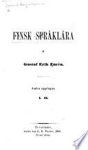 Finsk språklära