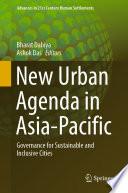 New Urban Agenda In Asia Pacific Book PDF