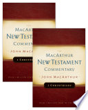 1 2 Corinthians Macarthur New Testament Commentary Set Book PDF
