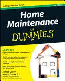Home Maintenance For Dummies Pdf/ePub eBook