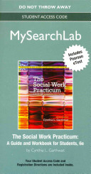 Mysearchlab with Pearson Etext    Standalone Access Card    For Social Work Practicum  A Guide and Workbook for Students