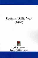Caesar s Gallic War  1898