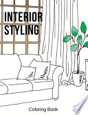 Interior Styling Coloring Book