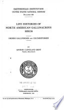 Life Histories of North American Gallinaceous Birds