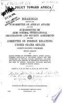 U S  Policy Toward Africa Book