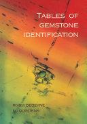 Pdf Tables of Gemstone Identification