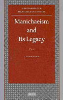 Manichaeism and Its Legacy