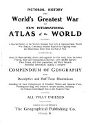 Pictorial History Of The World S Greatest War And New International Atlas Of The World Book PDF