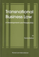 Transnational Business Law Book