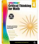 Spectrum Critical Thinking for Math  Grade 4