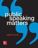 Public Speaking Matters
