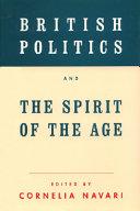 British Politics and the Spirit of the Age