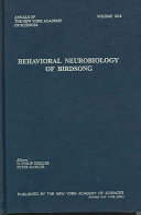 Behavioral Neurobiology of Birdsong