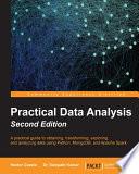 Practical Data Analysis Book PDF