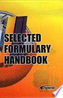 Selected Formulary Handbook Book